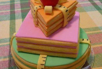 pastel inusual en el Día del Maestro