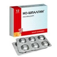 """""""Noshpalgin"""" Medikamente. Gebrauchsanweisung"""