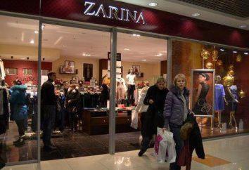 """Sklepy """"Zarina"""" w Moskwie, adres i mapę lokalizacji"""
