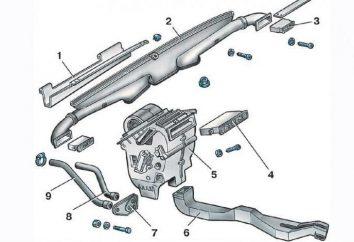 System ogrzewania VAZ-2114: opis, cechy i wady