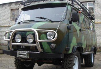 """UAZ """"pão"""": ajuste e refinamento de um carro para off-road"""
