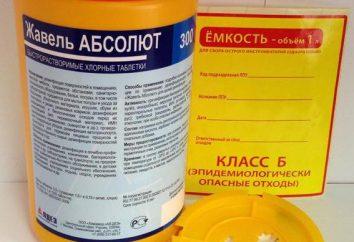 """Disinfettante """"Javel assoluta"""": istruzioni per l'uso, l'efficacia e recensioni"""