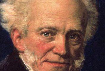 Arthur Schopenhauer. Zitate über die Art und Weise und das Leben des Menschen