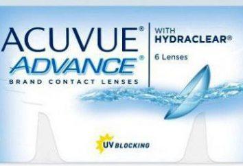 Las lentes de contacto Acuvue Advance con Hydraclear: opiniones y características