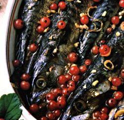 Comment faire cuire le maquereau avec un cassis. La combinaison inhabituelle de poissons et de fruits