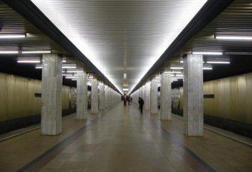 "Die U-Bahn-Station ""Ul. Podbelskogo"""