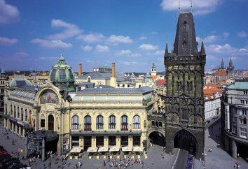 Torre de pó. Praga e suas atrações