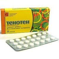 pilules homéopathiques « de tenoten »: mode d'emploi