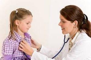 Y el examen clínico de los niños