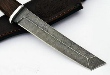 Noże ze stali damasceńskiej Nazarowa: rodzaje, funkcje, opinie. Ukształtować Nazarova V. V.