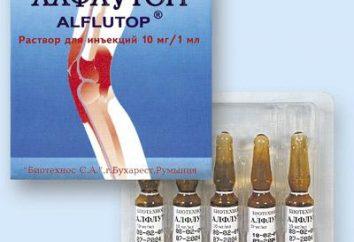 """Injections """"Alflutop"""": Bewertungen von Ärzten, Anweisungen, Preis"""