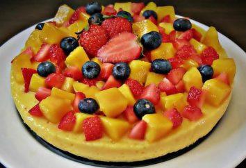 gâteaux à faible teneur en calories: recettes, photos