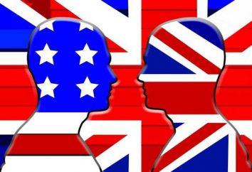 Inglês americano: características