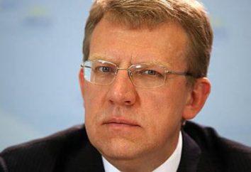 Kudrin Aleksey – una cabeza a largo plazo del Ministerio de Finanzas de Rusia