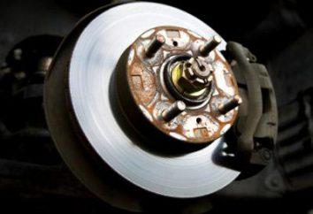 Układ hamulcowy VAZ-2107: program, naprawa urządzenia