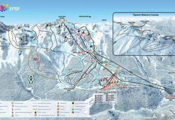 « Ferme Rose » – la station de ski russe. routes de conduite « Rose Farm » et la complexité de la route