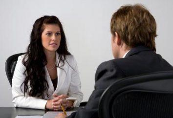 Wie ein Interview zu übergeben? Erfolgsgeheimnisse