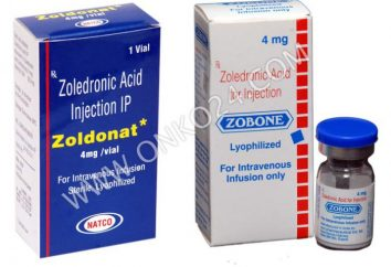 """""""Zometa"""" (acido zoledronico) analoghi della prezzo. Dove acquistare Zometa più economico"""