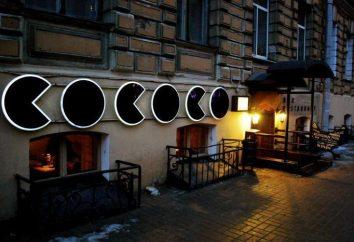 COCOCO – restauracja w Petersburgu: opis menu, opinie