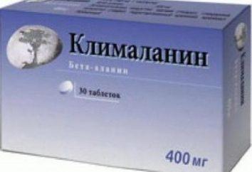 """Protivoklimakterichesky lek dla kobiet """"Klimalanin"""": instrukcje użytkowania"""