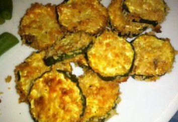 Zucchine con panna acida con Ricette aglio