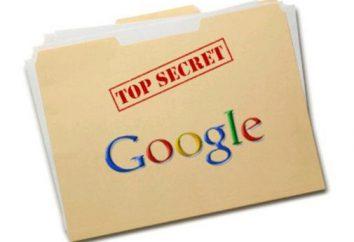 """Revelar los secretos más útiles y divertidos """"Google"""""""