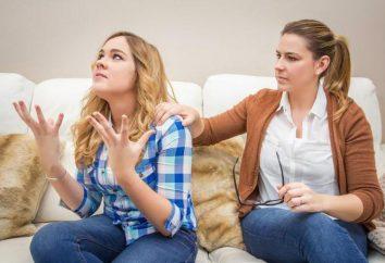 Jak zachować się w rękach: przydatnych zaleceń. Jak kontrolować siebie?