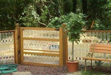 Ogrodzenia wykonane z plastikowych butelek – proste rozwiązanie wielkich problemów!