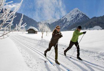 Wybierz narciarstwa biegowego
