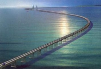 A ponte mais longa do mundo – é um milagre de idéias de design