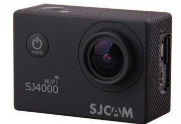 Sommaire Action Cam SJ4000: spécifications et commentaires