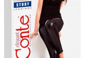 """Société """"Conte"""": leggings. Gage de beauté et de l'élégance"""