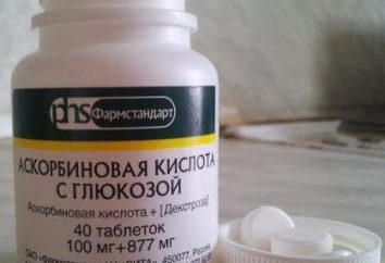 Askorbinki avec du glucose: des instructions pour l'utilisation et la rétroaction