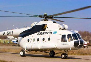 Mi-8: características, misiones de combate, desastres y helicóptero foto