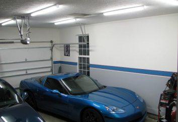 Jak spędzić oświetlenie w garażu z rękami?