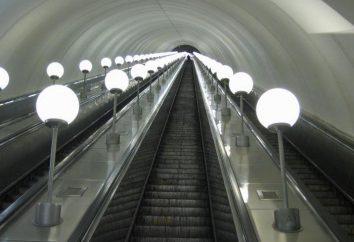 The Moscow Metro, najdłuższe schody ruchome w świecie, a także inne rarytasy wśród schody