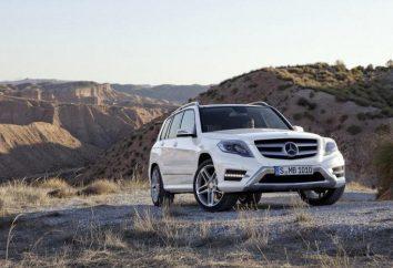 Mercedes GLK 250: opis, specyfikacje i cechy stylowych niemieckich rozjazdów