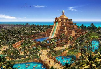 """Dubai, parco acquatico """"Atlantis"""": foto e descrizione"""