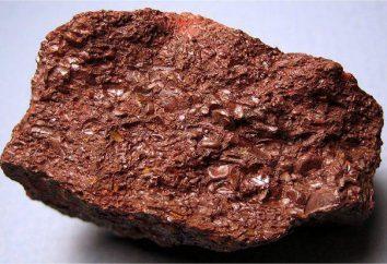 ematite pietra interessano? proprietà sorprendenti di ematite