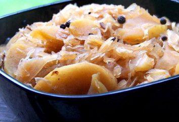 col manzanas caseras deliciosas en escabeche
