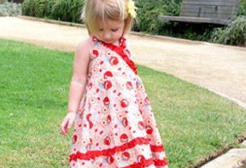 Une occasion pour la créativité: robes pour les filles avec leurs mains