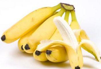 banane saine et délicieuse