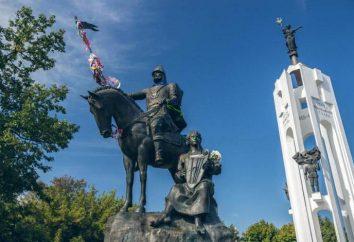 Monument Peresvet Bryansk. événements historiques
