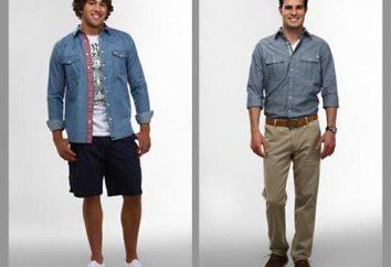 Comment remplir la chemise dans le pantalon et des jeans: des idées intéressantes et recommandations des professionnels