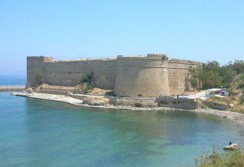Castillo de Kyrenia (Chipre): historia de origen, la descripción