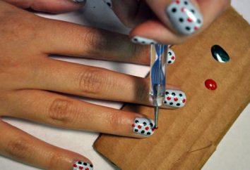 Passo dopo passo il disegno sulle unghie. Come creare disegni sulle unghie: guida passo per passo