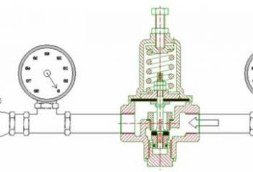 Quando a pressão aplicada válvula redutora?