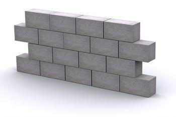 bloco de concreto com as mãos: a abordagem correta
