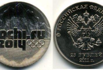 monete olimpici. Monete con simboli olimpici. monete olimpiche 25 rubli