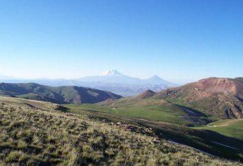 Armenia meseta – región de la montaña en el norte de Asia Menor. Un estado antiguo en el territorio de la montaña de Armenia